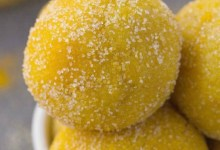 Golden Milk (jamu tea) Balls!