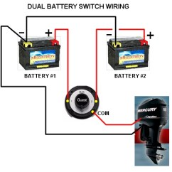Marine Dual Battery Switch Wiring Diagram Typical House Electrical Arimaowners.com - Perko Or Guest