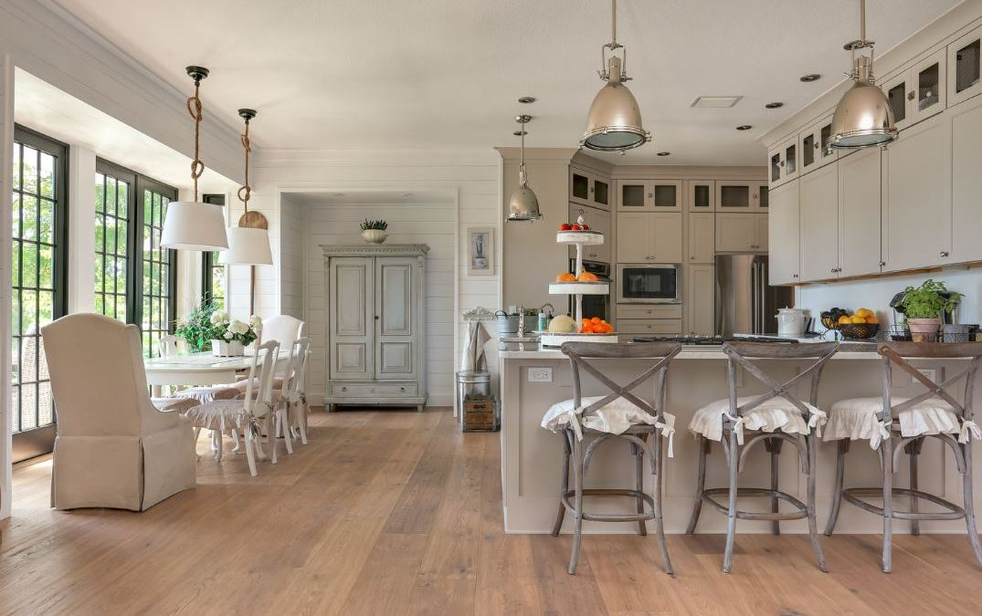 Kitchens with Hardwood Floors