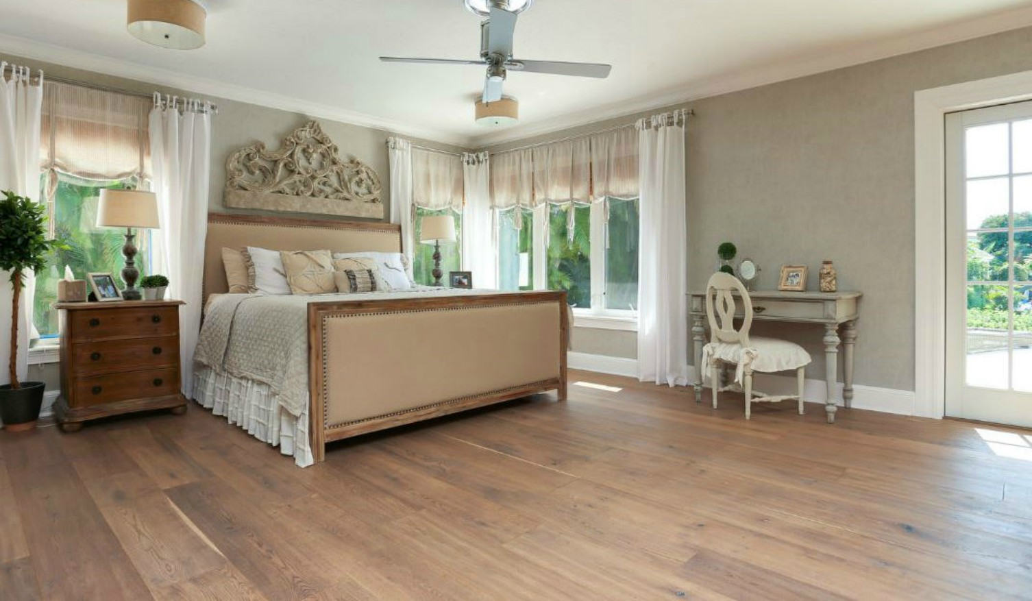 Rossell Rustic White Oak Wide Plank Flooring