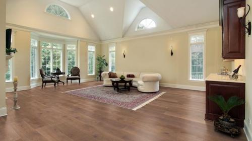 Champagne Wide Plank Flooring