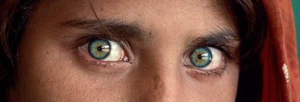 Afgan Kızın gözleri