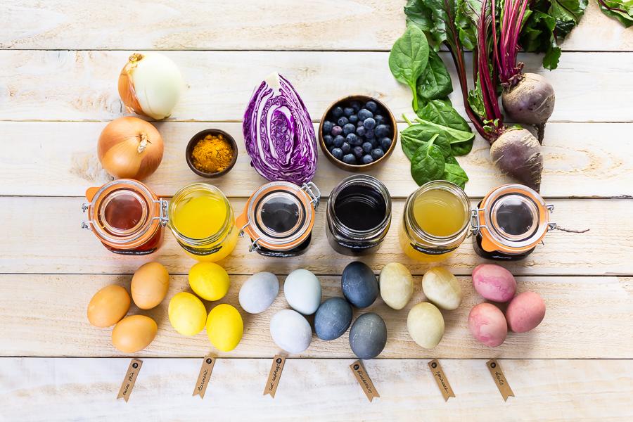 All-natural Easter Egg dye