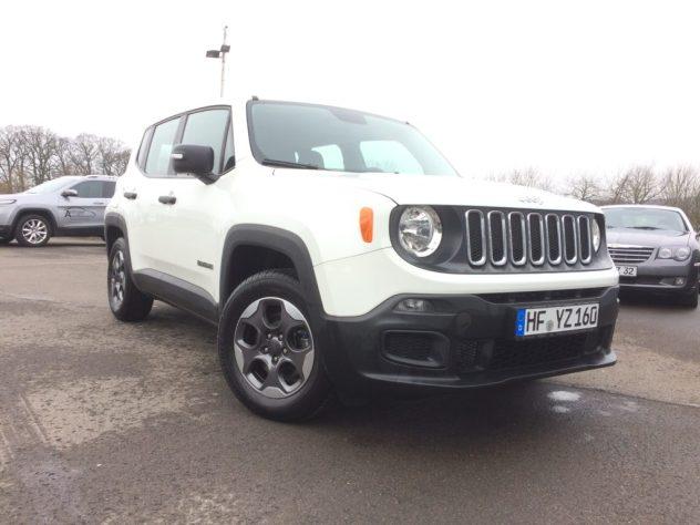Jeep® Renegade Sport 1,6l e-torq 110 PS (Schaltgetriebe)
