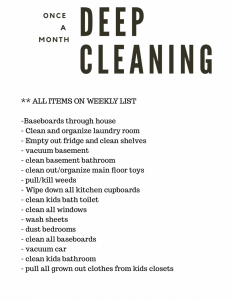 Cutting down on Weekly Chaos - www.arinsolangeathome.com
