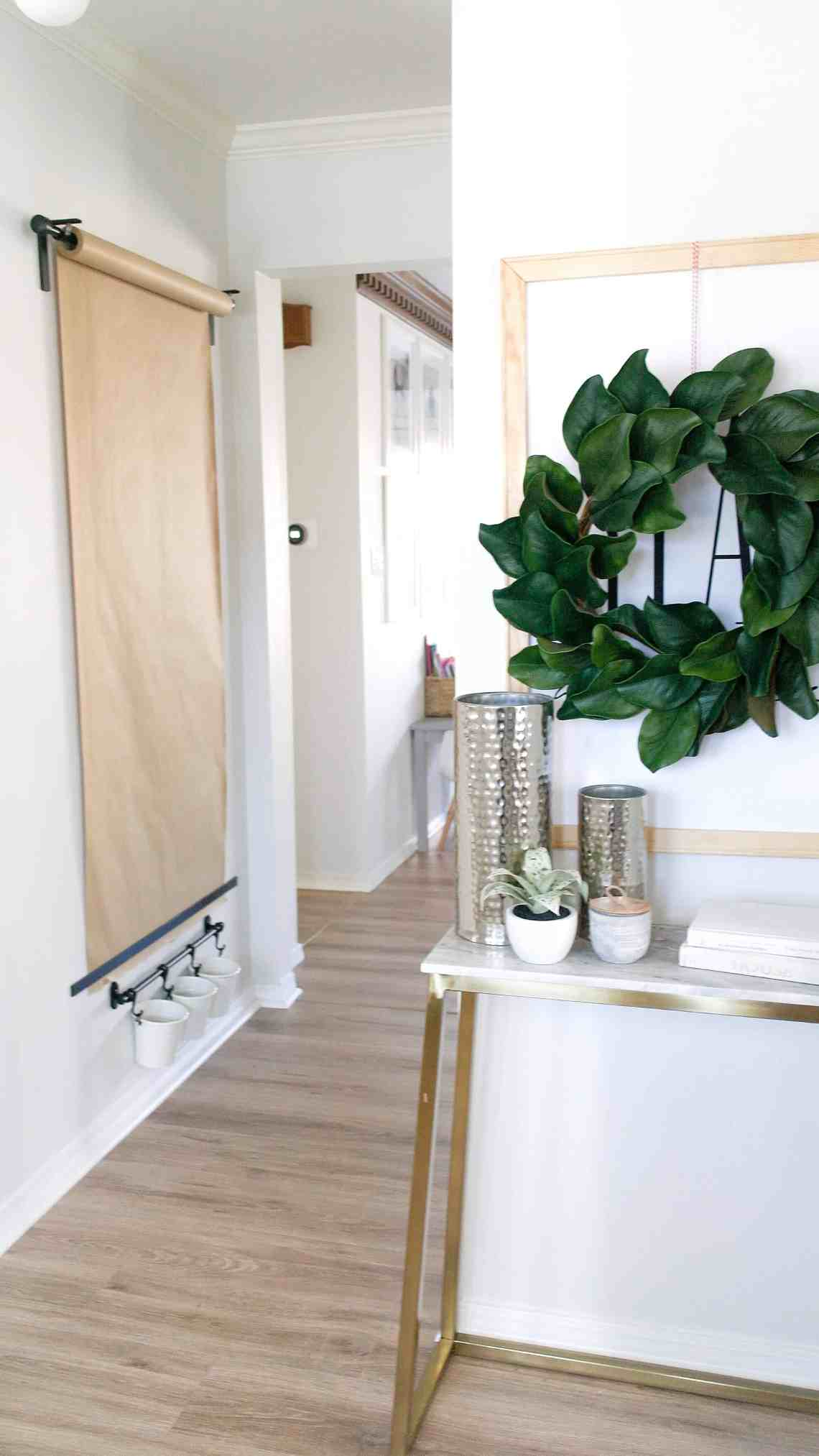 Diy Wall Mounted Easel Arinsolangeathome