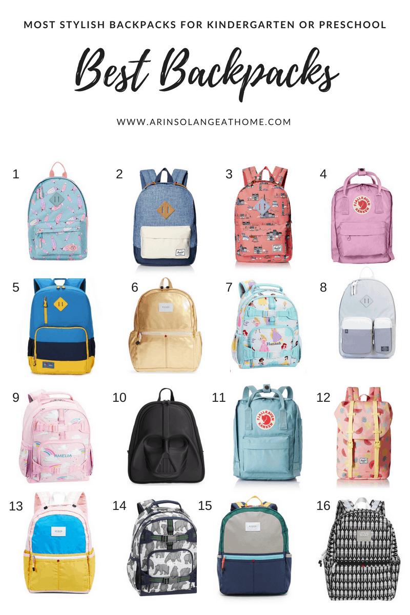 Best Kindergarten Backpack Arinsolangeathome