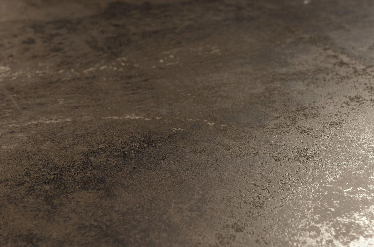 Brown zinc Ultra metal brown metal effect floor and wall