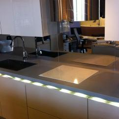 Kitchen Showroom Led Light Fixture Shops And Showrooms Ariostea