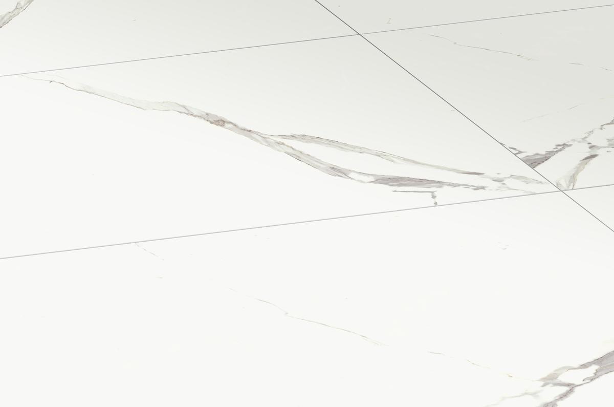 Piastrelle in gres porcellanato bianco Statuario classico Marmi classici