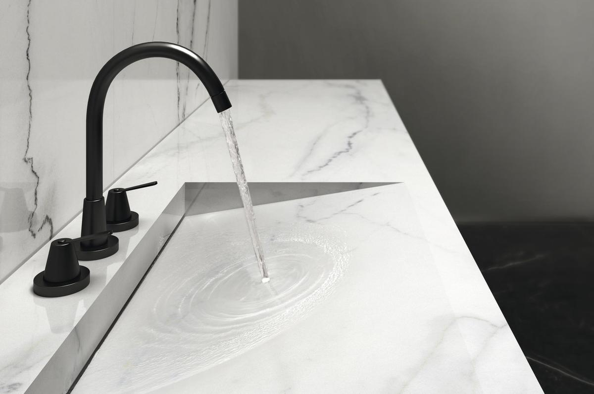 Calacatta lincoln Ultra marmi grandi lastre effetto marmo