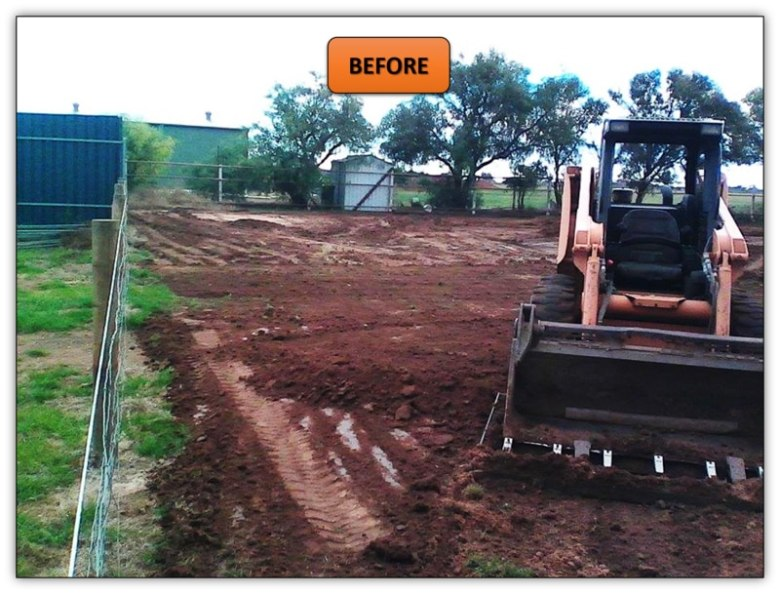 Northern Adelaide Bobcat Hire - Graded Horse Arena