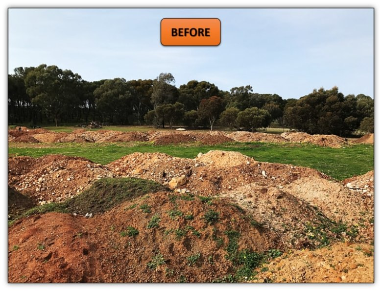 Backyard Excavation Services Barossa Valley Motorbike Race Track