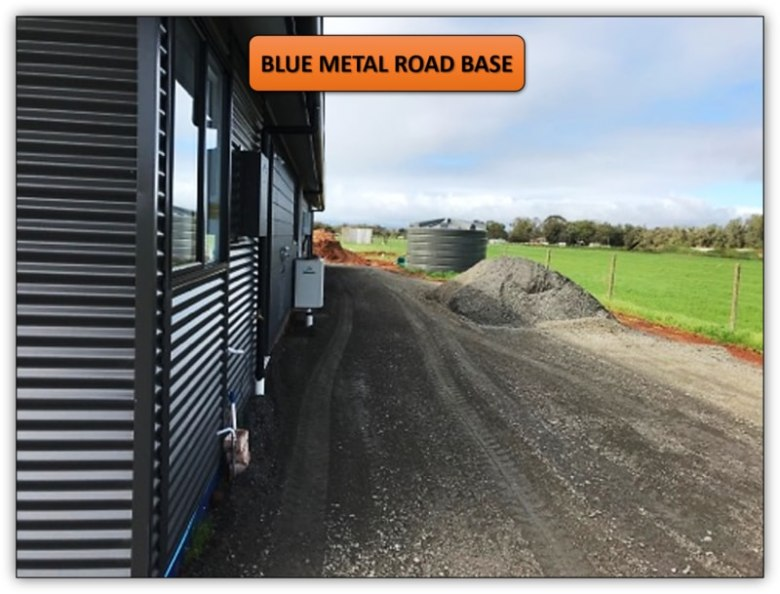 Concrete Preparation - Blue Metal Road Base