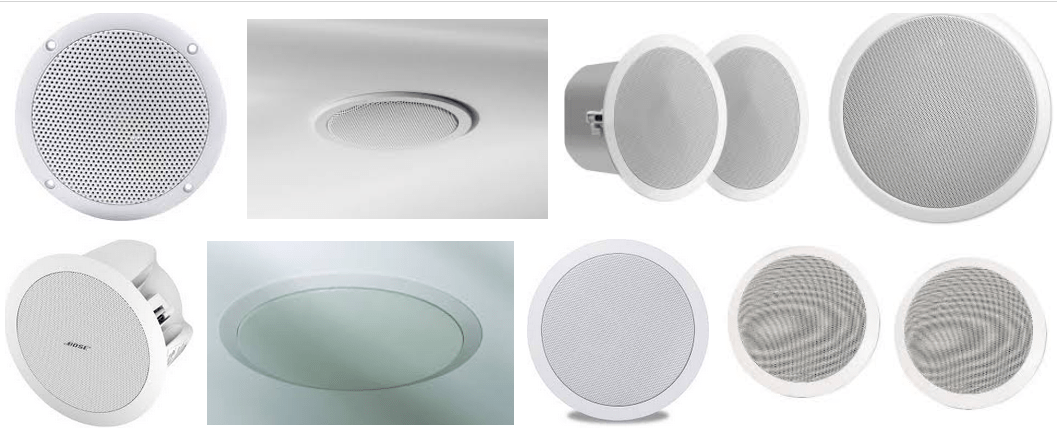 How To Choose The Ceiling Speakers?