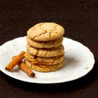 Chai Spiced Snickerdoodles {vegan}