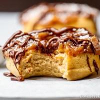 Samoas Donuts {vegan}