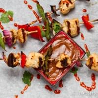 Thai Chicken Kabobs