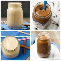 Gingerbread Pecan Butter & Gingerbread Smoothie