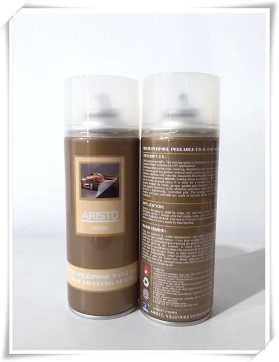 Waterproof Plastic Dip  Rubber Acrylic Spray Paint Multi