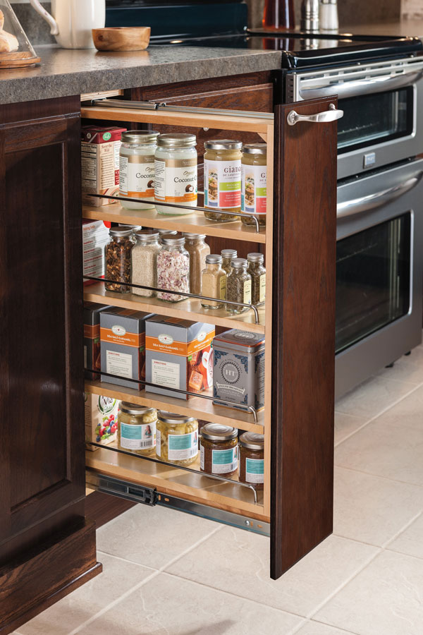 pull out kitchen cabinet home depot packages 6 inch base pullout aristokraft cabinetry