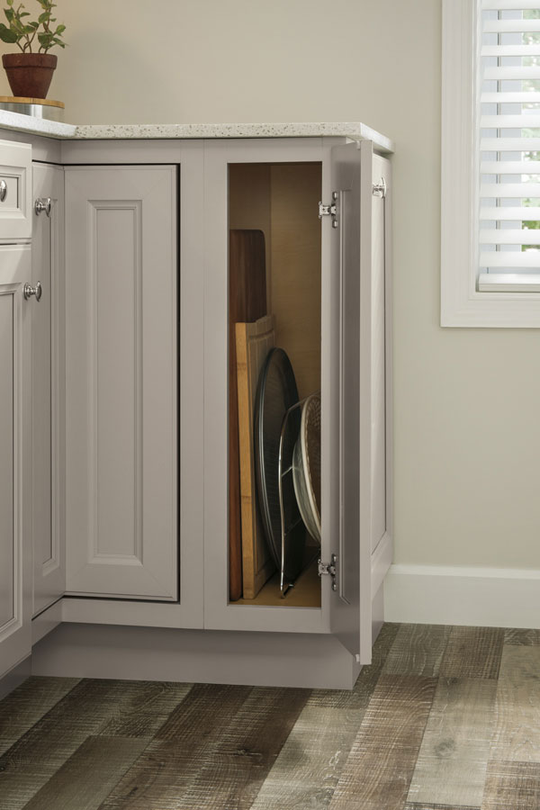 design kitchen cabinets recycled countertops base tray divider cabinet - aristokraft cabinetry
