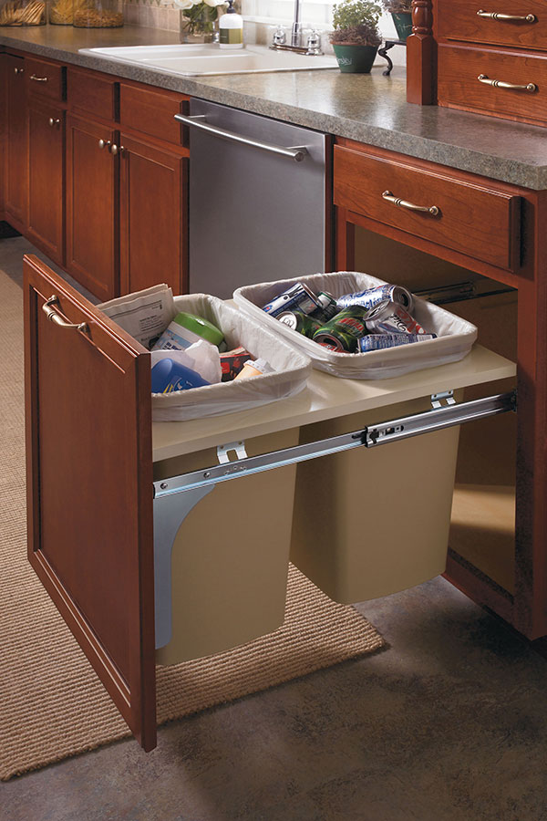 Base Wastebasket Cabinet  Aristokraft Cabinetry