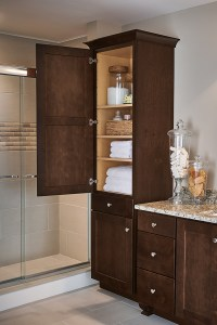 Linen Closet Cabinet - Aristokraft Cabinetry