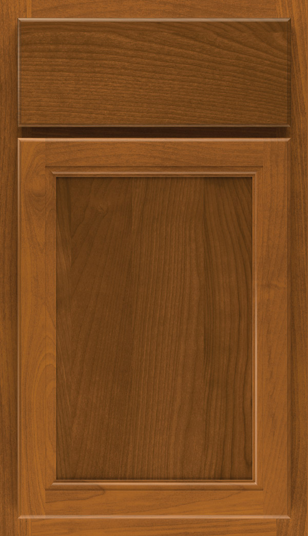 Sinclair Wood Birch Finish Saddle Cabinet By Aristokraft Cabinetry