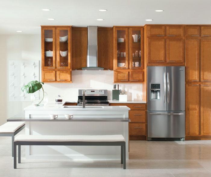 Maple Wood Kitchen Cabinets  Aristokraft Cabinetry
