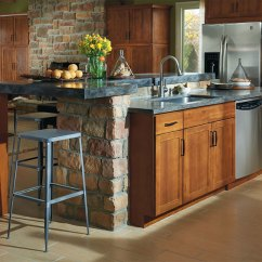 Shaker Kitchen Cabinets Zinc Top Island Style Aristokraft By Cabinetry