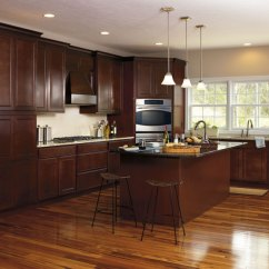 Kitchen Cabinets Wood Glass Tiles For Maple Aristokraft Cabinetry By