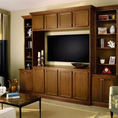 Entertainment Units Living Room How To Decorate Your Walls With Pictures Cabinet In Birch Wood Aristokraft By Cabinetry
