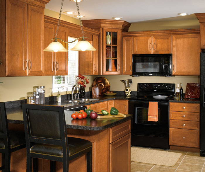 kitchen wood cabinets ceiling lighting fixtures maple in traditional aristokraft by cabinetry