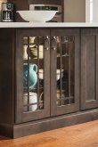 Dark Gray Kitchen Cabinets  Aristokraft Cabinetry
