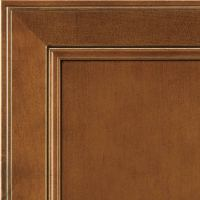 Pumpernickel Glaze Rustic Birch Cabinet Finish