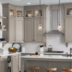 Affordable Kitchens And Baths Kitchen Cabinet Refacing Tampa Bathroom Cabinets Aristokraft Lillian Laminate In Stone Gray
