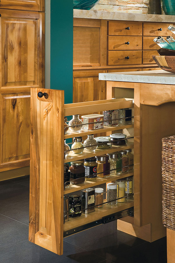 Base Pantry Pullout Cabinet  Aristokraft Cabinetry