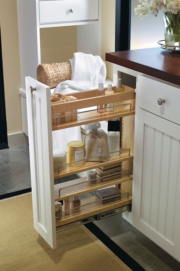 Vanity Pullout Cabinet  Aristokraft Cabinetry