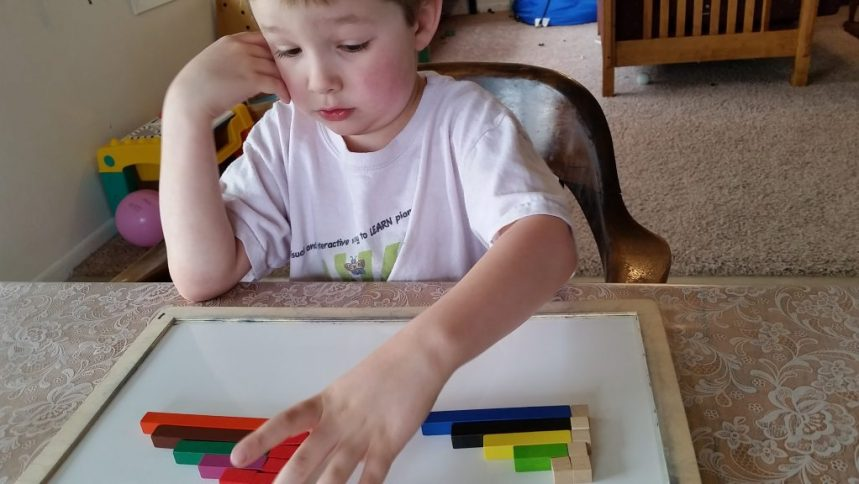 Algebra Before Arithmetic, How to teach with Cuisenaire Rods.
