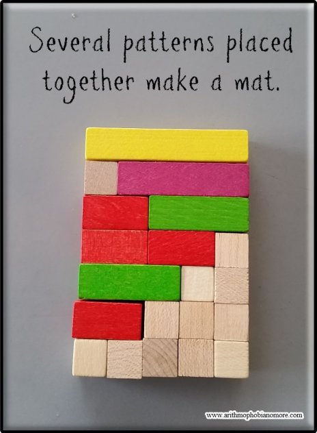 Cuisenaire Rods - Mat for the Yellow Rod.