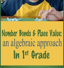 Number Bonds and Place Value: An Algebraic Approach in First Grade [ 3607 x 1552 Pixel ]