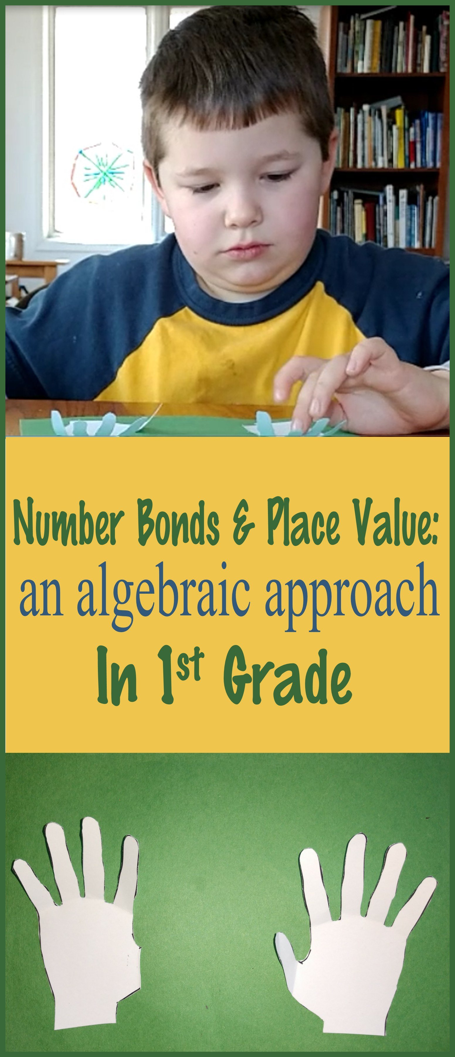 hight resolution of Number Bonds and Place Value: An Algebraic Approach in First Grade