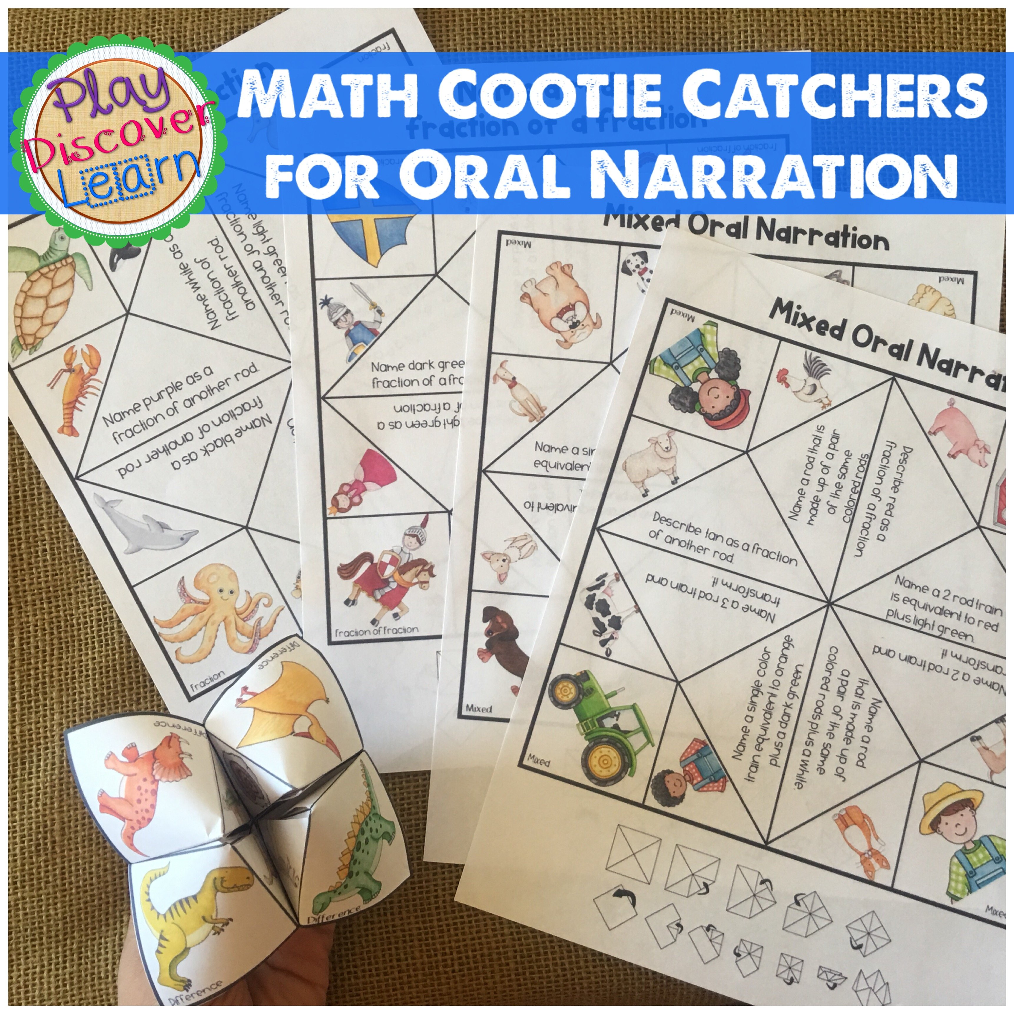 Oral Narration isn't just for MATHCamp. Kids should be narrating math all the time.