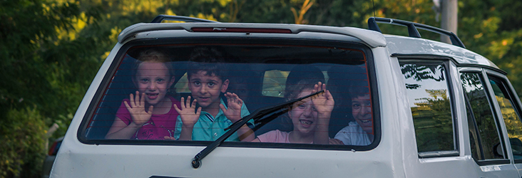 Surviving Carpool without Leaving the Kids on the Side of the Road