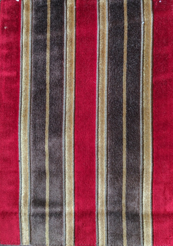 Fabric Selection - Chenille stripes for dining chairs