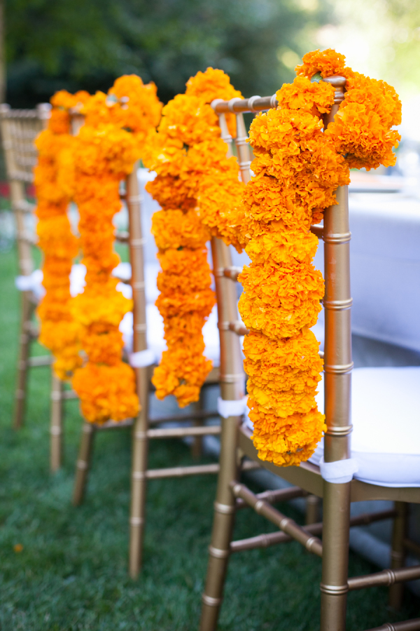 cane back dining room chairs swing chair sydney super simple marigold flower decoration ideas for your home • one brick at a time