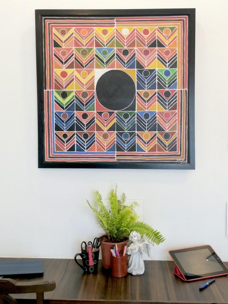Home Office Design - Adding colour