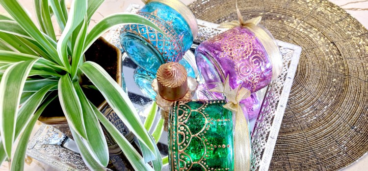 Diwali DIY: How To Paint Festive Glass Lanterns