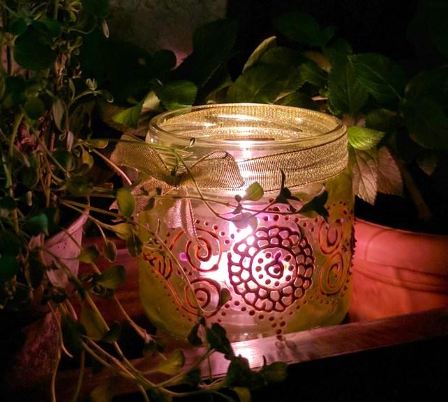 Diwali DIY - How To Paint Festive Glass Lanterns